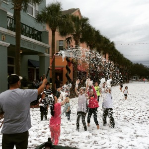 Winter snow festival