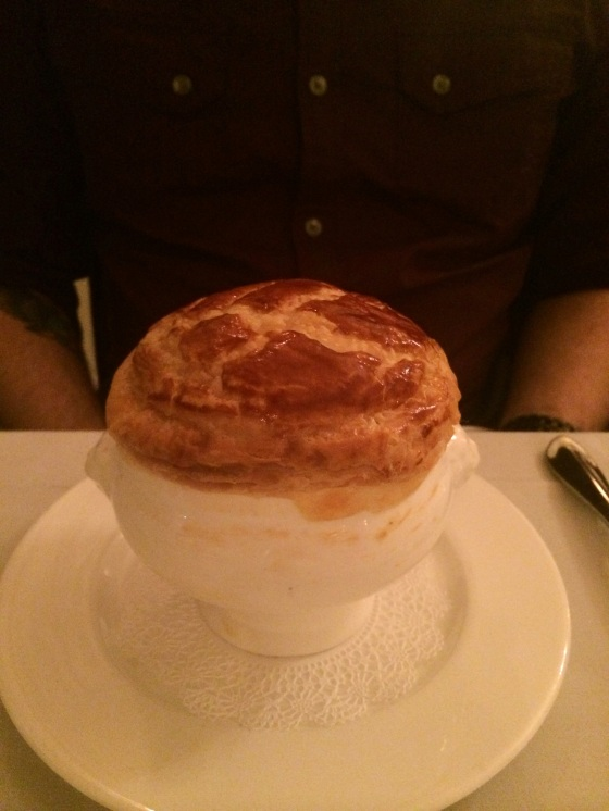 Fancy truffle inside for Charlie