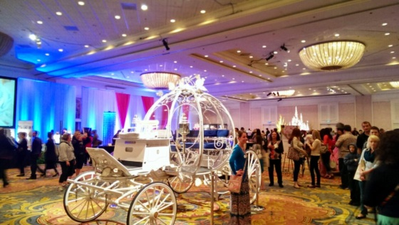 Cinderella's coach can carry any Disney bride... for the low price of??