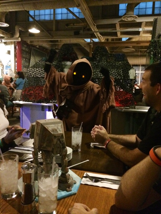Jawa has to trade you something if you offer it