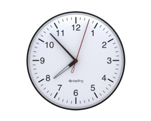 THIS IS AN ANALOG CLOCK